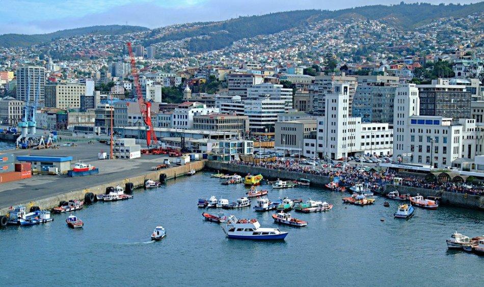 Porto de Valparaiso - Chile