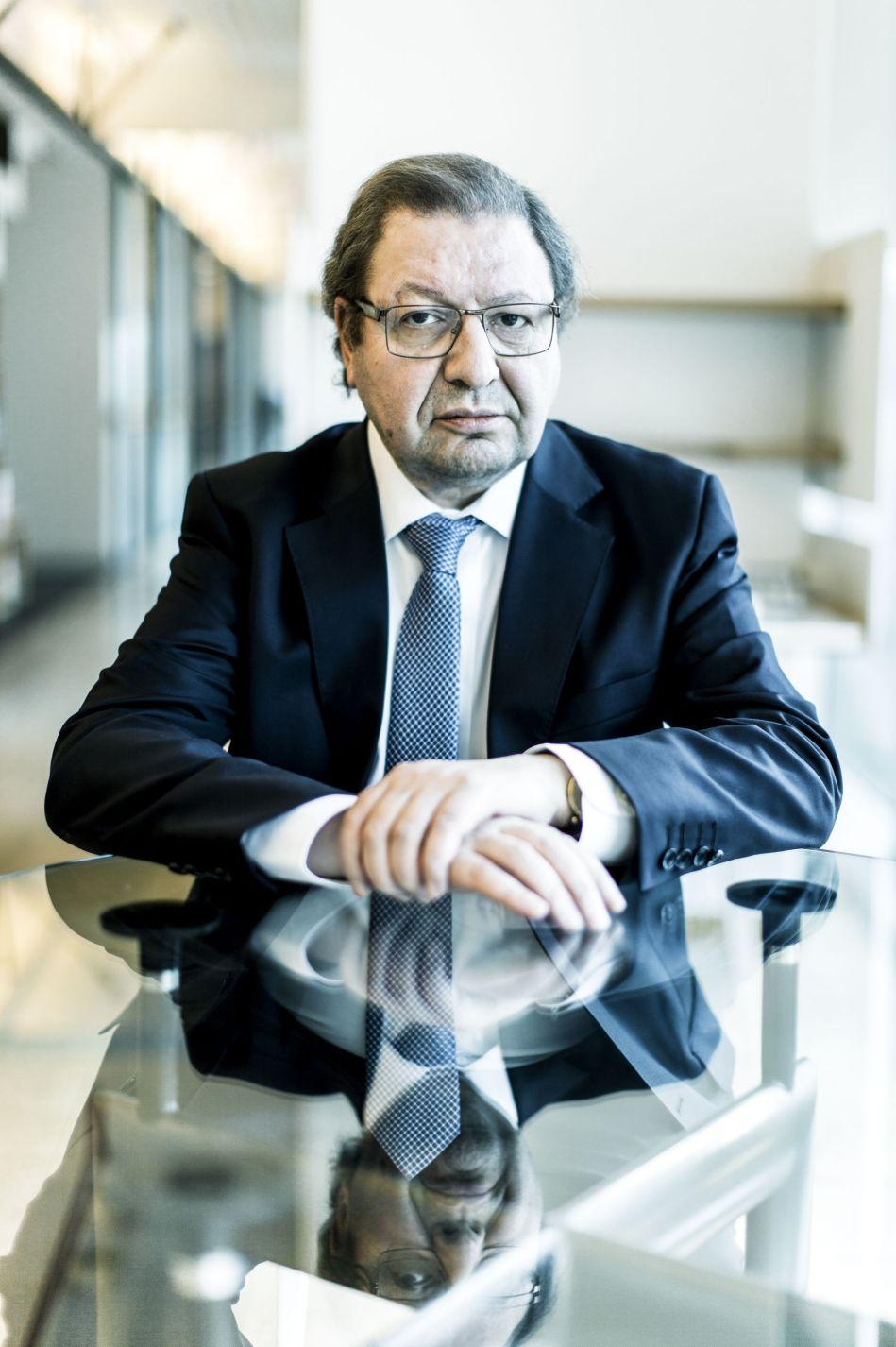 Ascanio Cavallo, coordenador chileno para a questão da demanda marítima. Sebastián Utreras