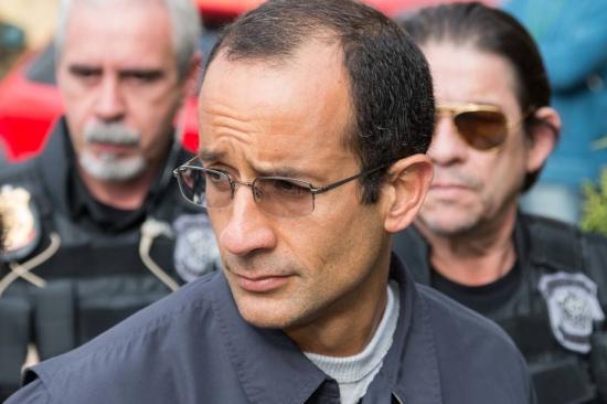 Marcelo Odebrecht, preso desde 19 de junho de 2015, em Curitiba. Foto: Cassiano Rosário/Futura Press