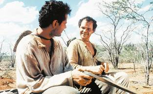 Com Selton Mello em cena do filme - O Auto da Compadecida - (1999), de Guel Arraes, baseado na obra de Ariano Suassuna