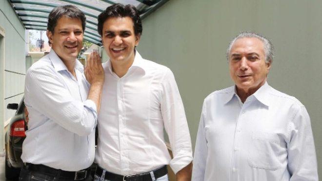 Haddad, Chalita e Temer - ascensão de árabes na política se deve ao sucesso de parentes imigrantes