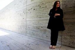 Zaha Hadid, em Barcelona (2003).