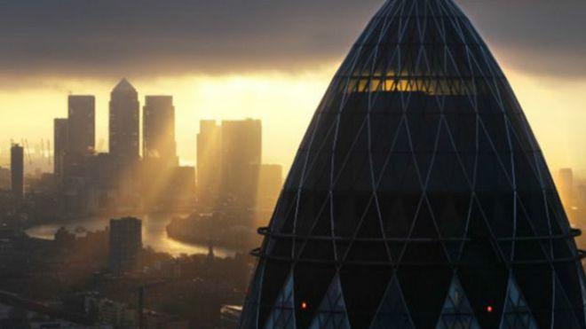 Londres é o maior centro financeiro da Europa