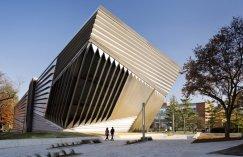 Fachada do Museu Broad, em Michigan (EUA).
