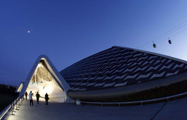 Pavilhão-Ponte da Expo de Zaragoza (Espanha), 2008.