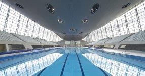 Centro Aquático dos Jogos Olímpicos de Londres 2012.