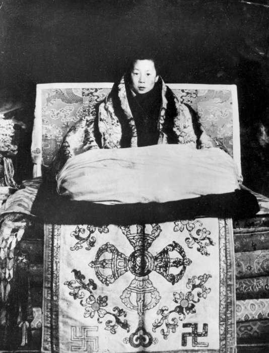 Aos dois anos, ele foi identificado como uma reencarnação do 13º Dalai Lama