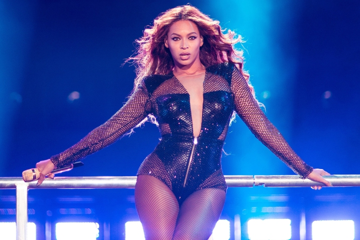 IMAGE DISTRIBUTED FOR PARKWOOD ENTERTAINMENT - Beyonce performs during the On The Run tour at Mercedes-Benz Superdome on Sunday, July 20, 2014 in New Orleans. (Photo by Robin Haper/Invision for Parkwood Entertainment/AP Images)