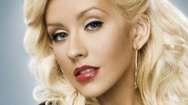 christina aguilera, wallpaper