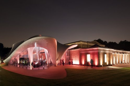 Nova sede da Serpentine Gallery, em Londres.