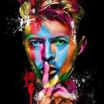 David Bowie, 2016, foto colorida