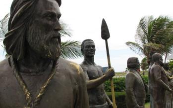 Estátua de Tiradentes, em Aracaju (SE)