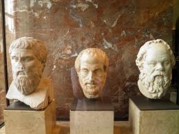 Plato, Aristotle, Socrates, Louvre Museum
