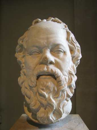 Socrates_Louvre , rosto