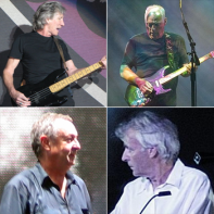 The four members of Pink Floyd.