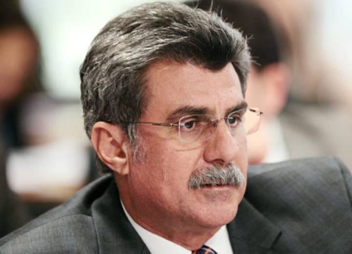 O senador Romero Jucá. - foto: D. Marinho Ag. Senado