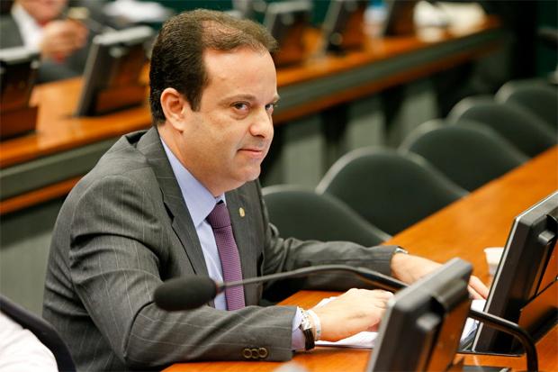 O deputado André Moura (PSC-SE), líder do governo Temer na Câmara