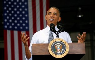 """2009 - Barack Obama - O prêmio reconheceu o compromisso do presidente dos EUA por """"promover o diálogo internacional e o desarmamento nuclear"""" em todo o mundo. Obama, que tinha chegado à Casa Branca apenas um ano antes, declarou """"não merecer estar na companhia de tantas figuras transformadoras que foram honradas com esse prêmio""""."""