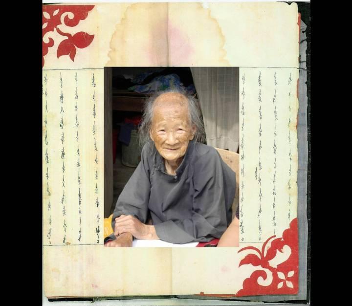 Yang Huanyi, a última pessoa capaz de ler e escrever em nushu, um sistema de escrita codificada usada durante séculos por mulheres chinesas. WIKIMEDIA