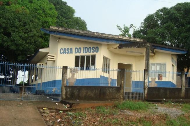 11 de Maio - Santa Luzia D'Oeste (RO) – Casa do Idoso.