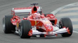 23 de Maio - Rubens quando ainda corria pela Ferrari, em 2005.