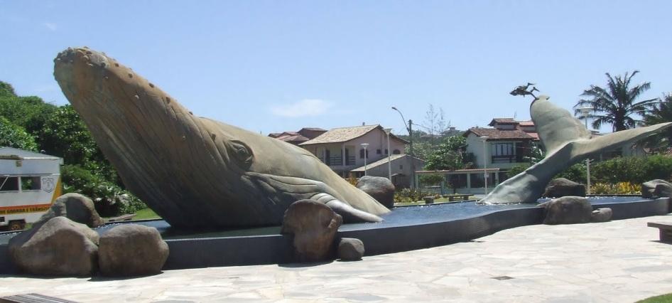 10 de Abril - Rio das Ostras, RJ, baleia Jubarte.