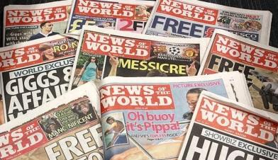 1 de Outubro - 1843 — É fundado em Londres o jornal tabloide News of the World.