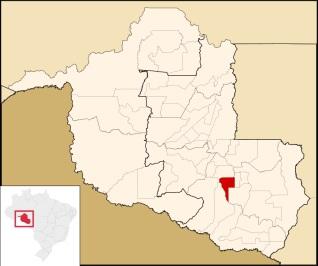 11 de Maio - Santa Luzia D'Oeste (RO) – Localização de Santa Luzia D'Oeste em Rondônia
