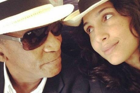 13 de Junho - Antonio Pitanga com sua filha, Camila Pitanga.