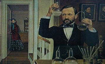 20 de Abril - 1862 — Louis Pasteur e Claude Bernard completam o experimento refutando a teoria da