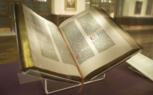 30 de Setembro – 1452 – Surge o primeiro livro impresso - a Bíblia de Gutenberg.