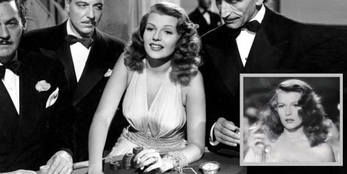 14 de Maio - Rita Hayworth como Gilda, papel que a imortalizou.