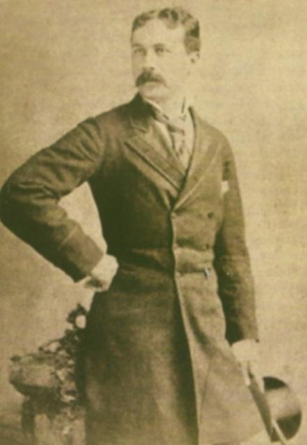 Joaquim Nabuco, em 1878, aos 29 anos.