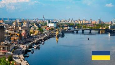 24 de Agosto — 1991 – Ucrânia declara-se independente da União Soviética. Cidade de Kiev, capital da Ucrânia.