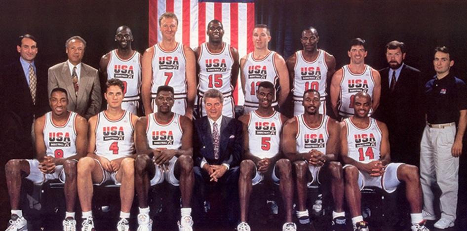 9 de Maio - Dream Team 1992 - Barcelona.