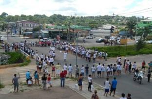 17 de Setembro – Manifestação popular no Jardim Algaver — Alvorada (RS) — 52 Anos em 2017.