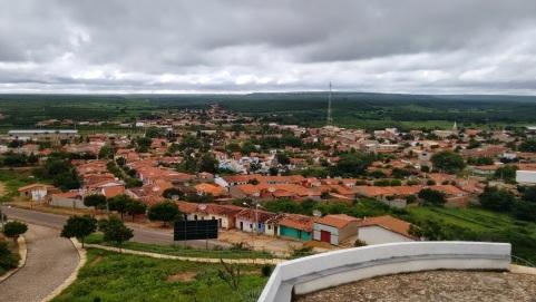 3 de Agosto – Vista panorâmica da cidade — Araripe (CE) — 142 Anos em 2017.