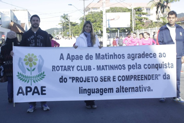 12 de Junho - APAE e Rotary no desfile de aniversário da cidade de Matinhos, em 2016 - A (Cidade) Namorada do Paraná - Matinhos (PR) - 50 Anos.