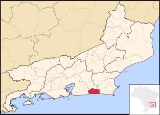 8 de Maio - Localização de Saquarema no Rio de Janeiro