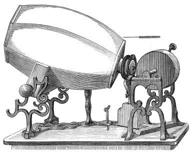 9 de Abril - 1860 - O fonoautógrafo de Leon Scott.