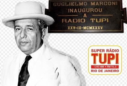 25 de Setembro – 1935 – Assis Chateaubriand inaugura a Super Rádio Tupi do Rio de Janeiro.