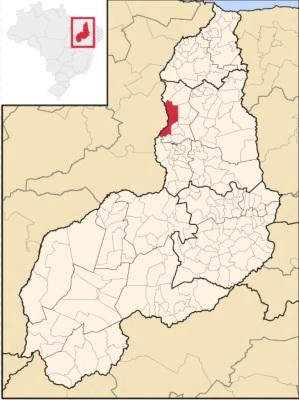 16 de Agosto – Mapa de localização — Teresina (PI) — 165 Anos em 2017.