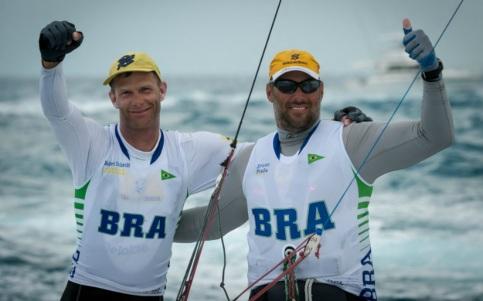 15 de Abril - Robert Scheidt e Bruno Prada.