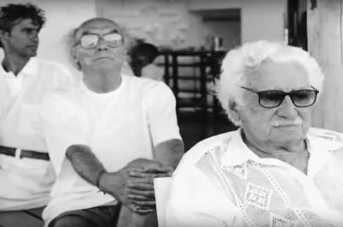 10 de Agosto – Jorge Amado- 1912 – 105Anos em 2017 - Acontecimentos do Dia - Foto 7 - Caetano Veloso, José Saramago e Jorge Amado.