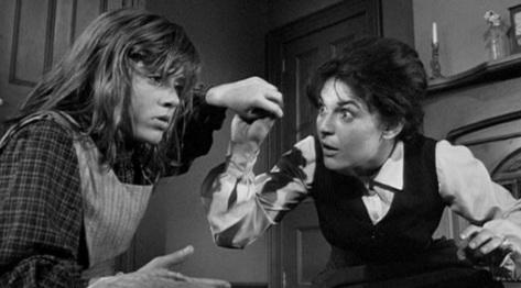 14 de Abril - Patty Duke e Anne Bancroft são Helen Keller e Anne Sullivan.