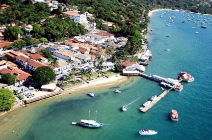 3 de Setembro – Foto aérea da cidade — Ilhabela (SP) — 212 Anos em 2017.