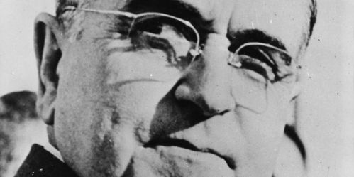 circa 1950: Brazilian president, Dr Getulio Vargas (1883 - 1954). (Photo by Keystone/Getty Images)