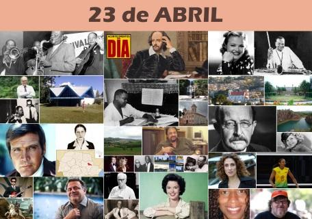 Poster do Dia - 23 de Abril