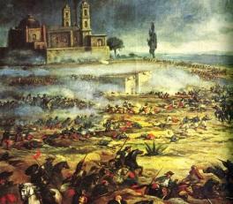 5 de Maio - 1862 — Cinco de Mayo — tropas lideradas por Ignacio Zaragoza impedem uma invasão francesa na Batalha de Puebla no México.