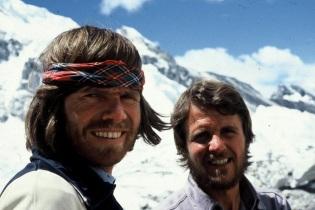 17 de Setembro – Reinhold Messner - 1944 – 73 Anos em 2017 - Acontecimentos do Dia - Foto 9 - Reinhold Messner e Peter Habeler, em 1978.